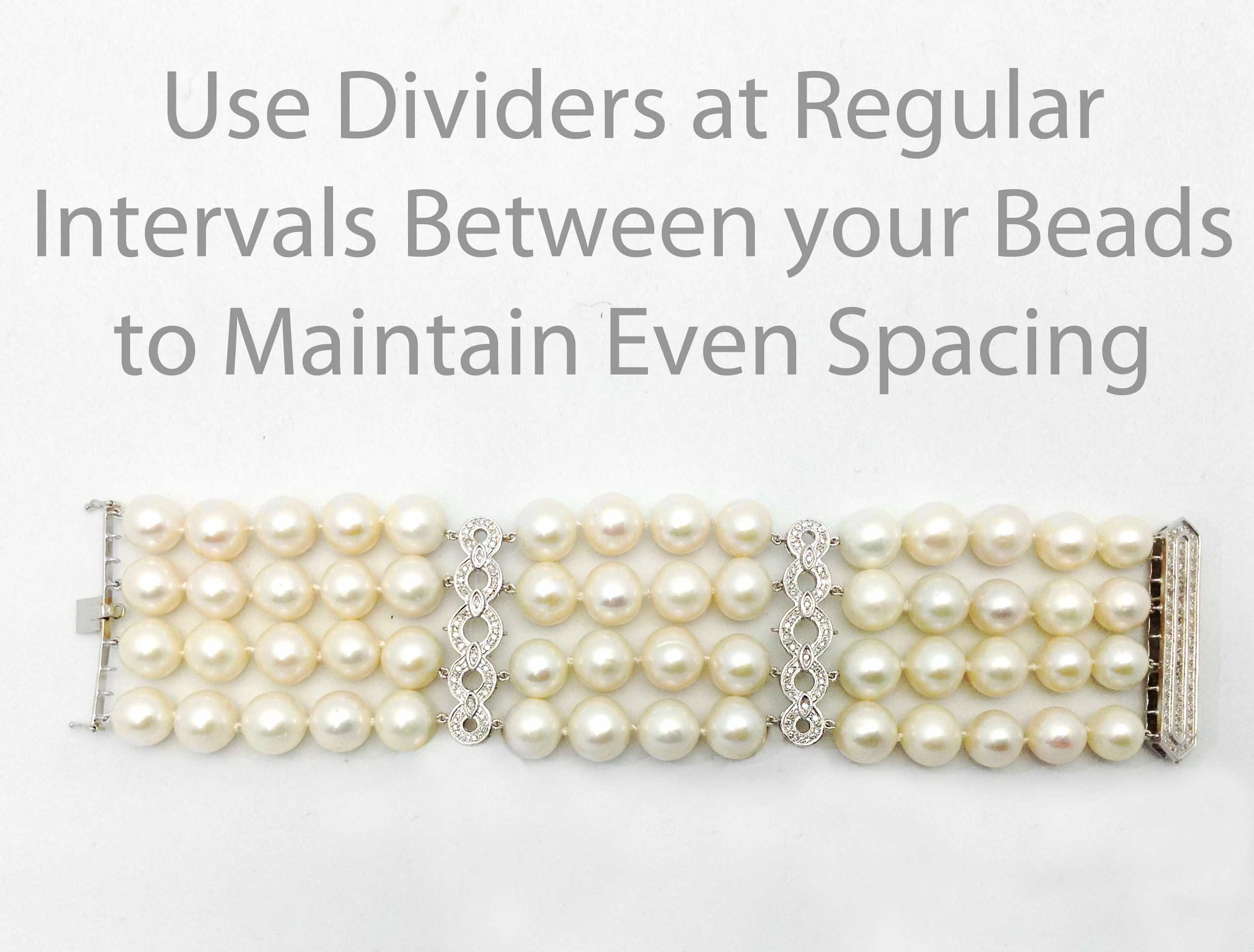 Multi-Strand Dividers to Keep your Bracelet Aligned