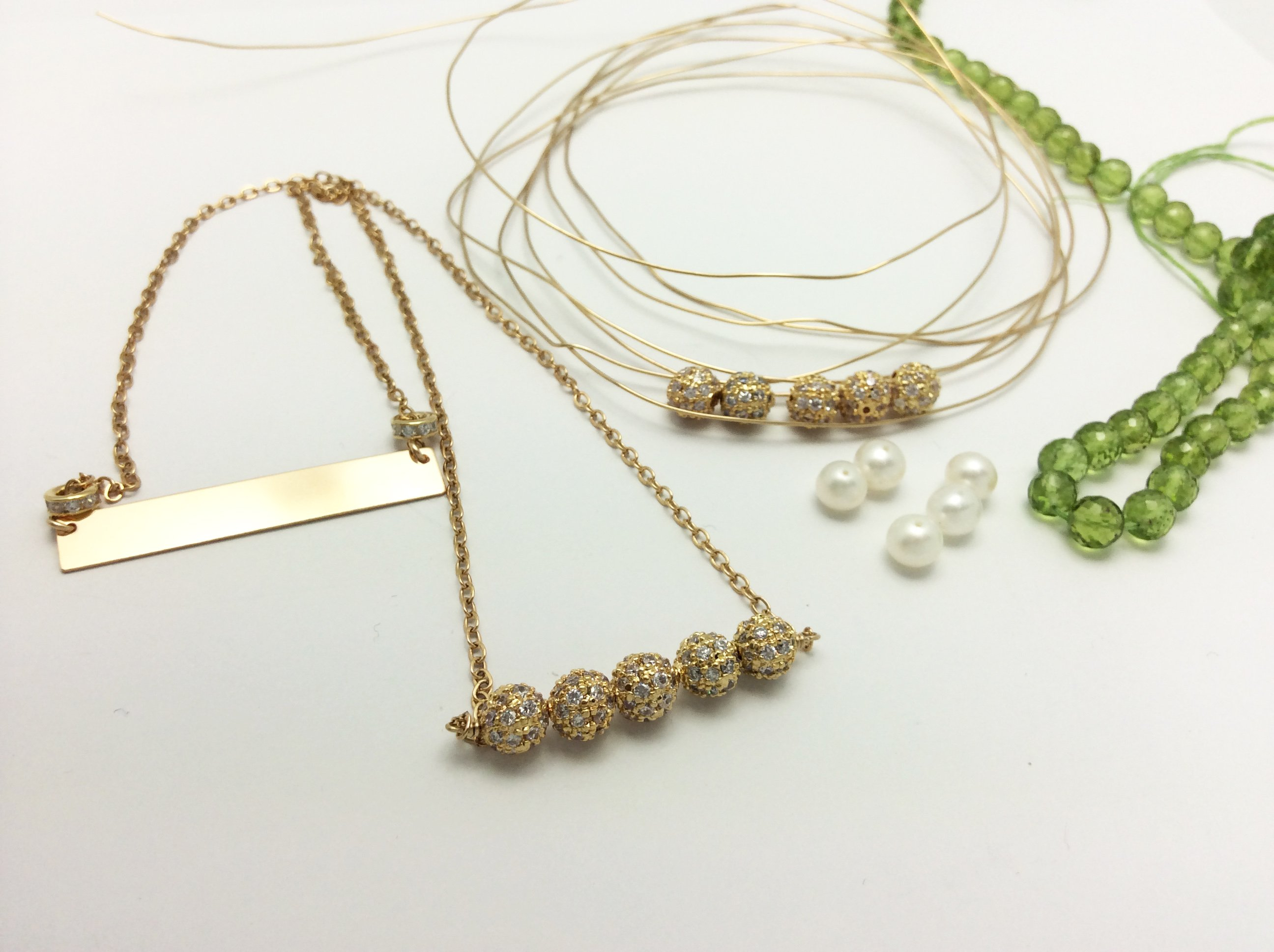 Stand Out Designs Jewelry : How to make bar necklaces that stand out u jewelry design tips