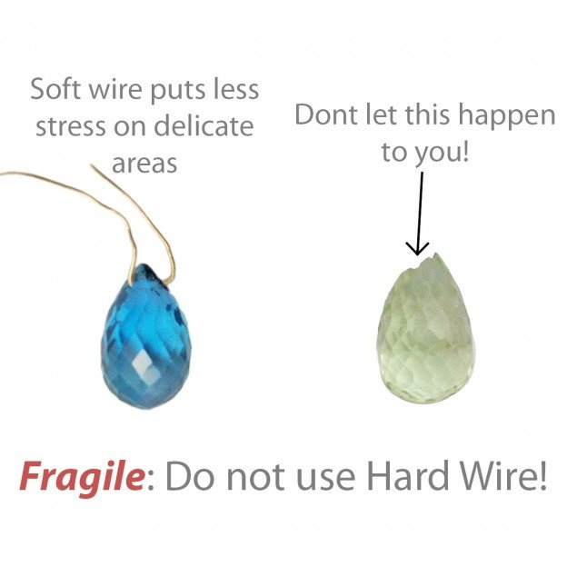 When not to use hard wire for wire wrapping