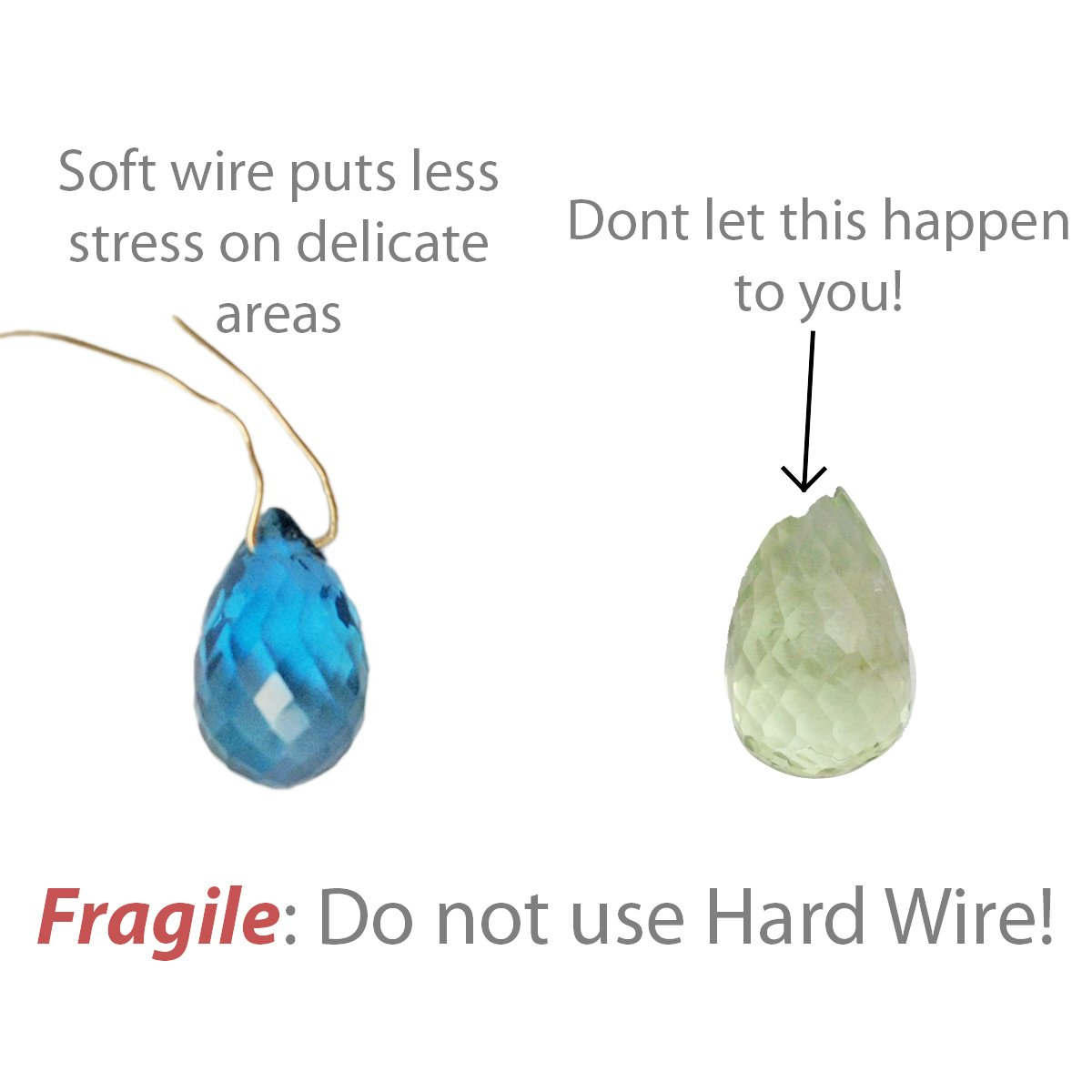 Should I use Soft, Half-Hard or Hard Wire? – Wire Wrapping 101 ...