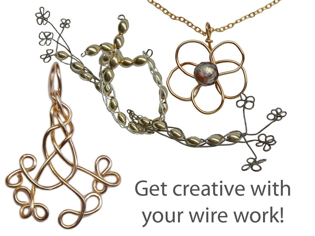 Different ways to design with Silver and Gold Filled Wire