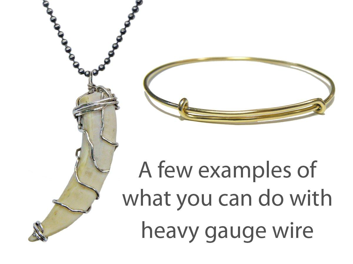 Thick gauge wire designs