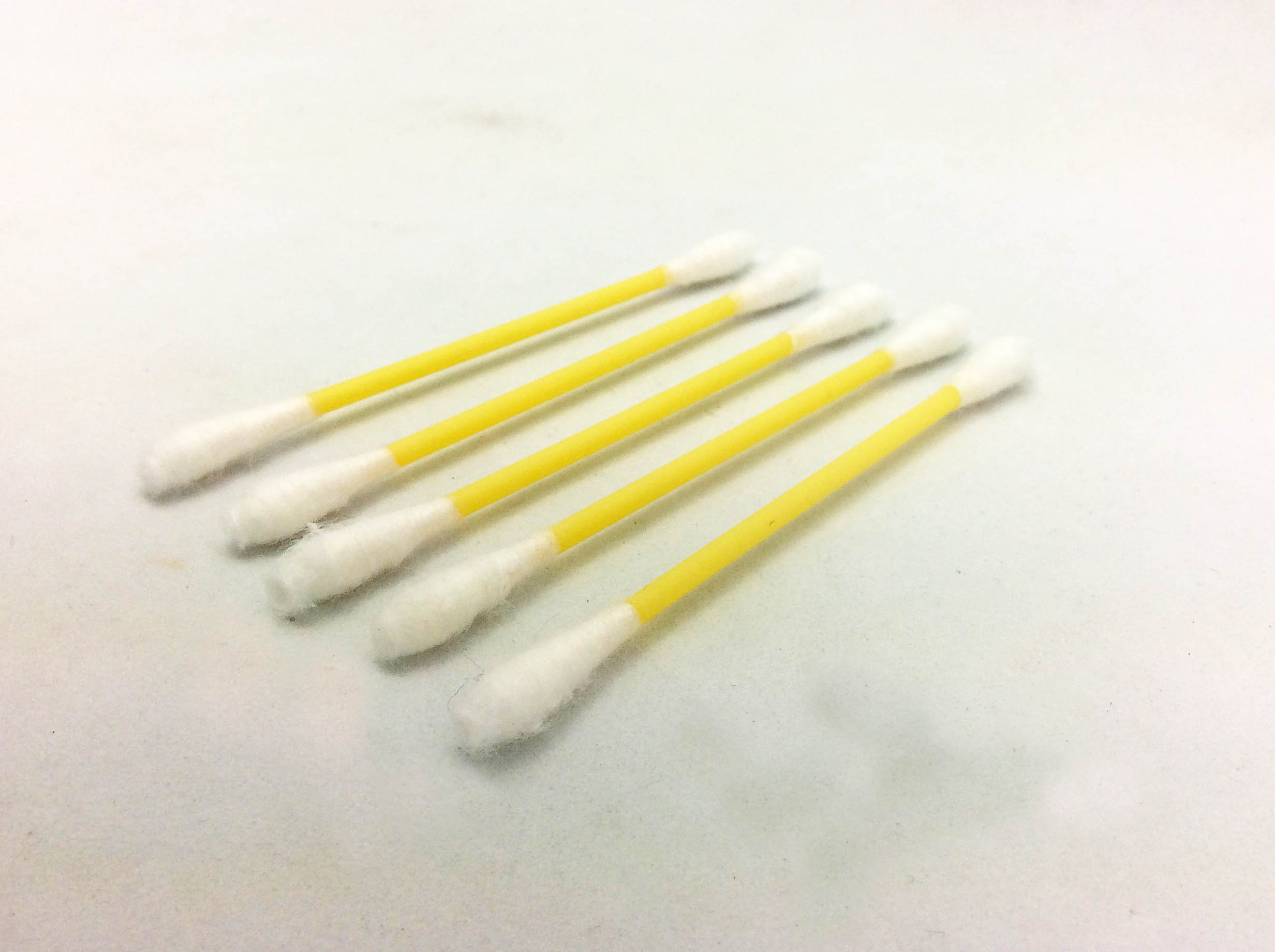 Cotton Swabs are great for doing small touch ups and reaching small, delicate areas.