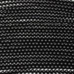 4mm Round Onyx/Black Agate Beads