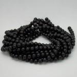 10mm Round Onyx/Black Agate Beads