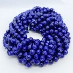 Natural Lapis Beads by Strand