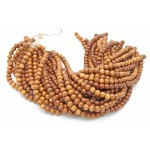10mm Madre De Cacao Wood Round Beads