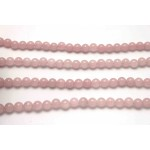 8mm Rose Quartz Smooth Round Beads