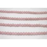 8mm Rose Quartz Faceted Round Beads