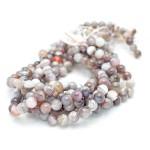 10mm Botswana Agate Smooth Round Beads