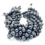 Blue Tigers Eye Beads By Strand