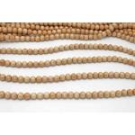 10mm Mahagony Wood Round Beads