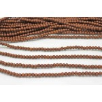 6mm Madre De Cacao Wood Round Beads