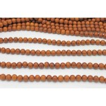 12mm Madre De Cacao Wood Round Beads