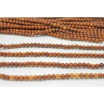 8mm Madre De Cacao Wood Round Beads
