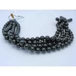 12mm Round Onyx/Black Agate Beads